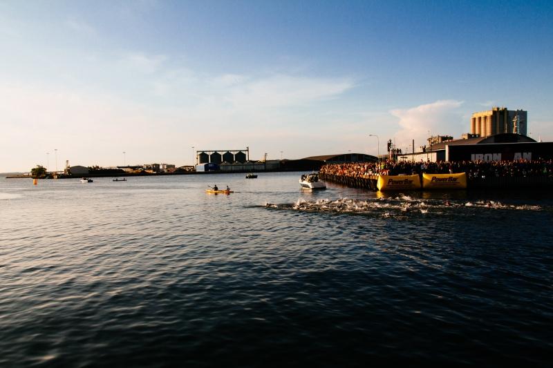 Ironman Kalmar 2014 Swim Start