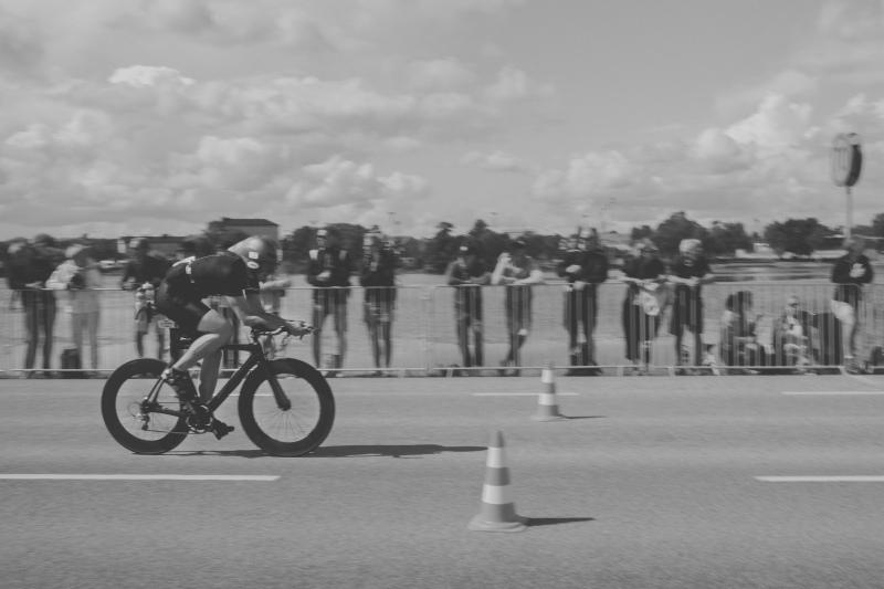 3,8km swim and 120km bike behind - 60km bike and a marathon ahead