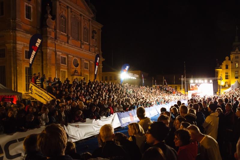 Ironman Kalmar 2014 finish line