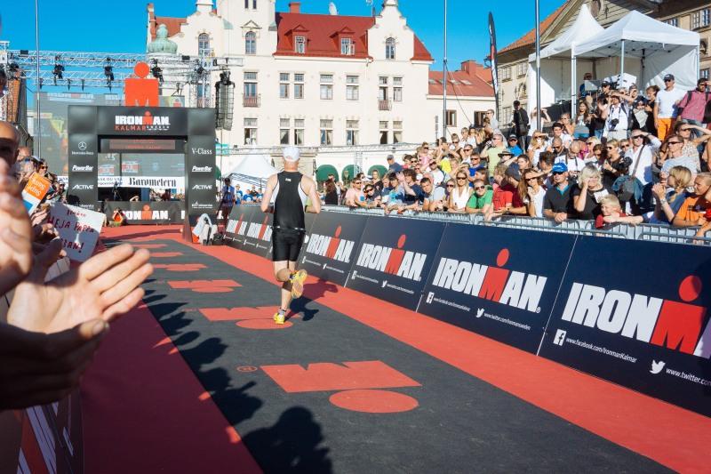 Ironman Kalmar finish