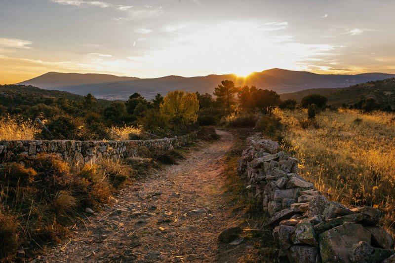 Trail from Becerril de la Sierra to Cercedilla