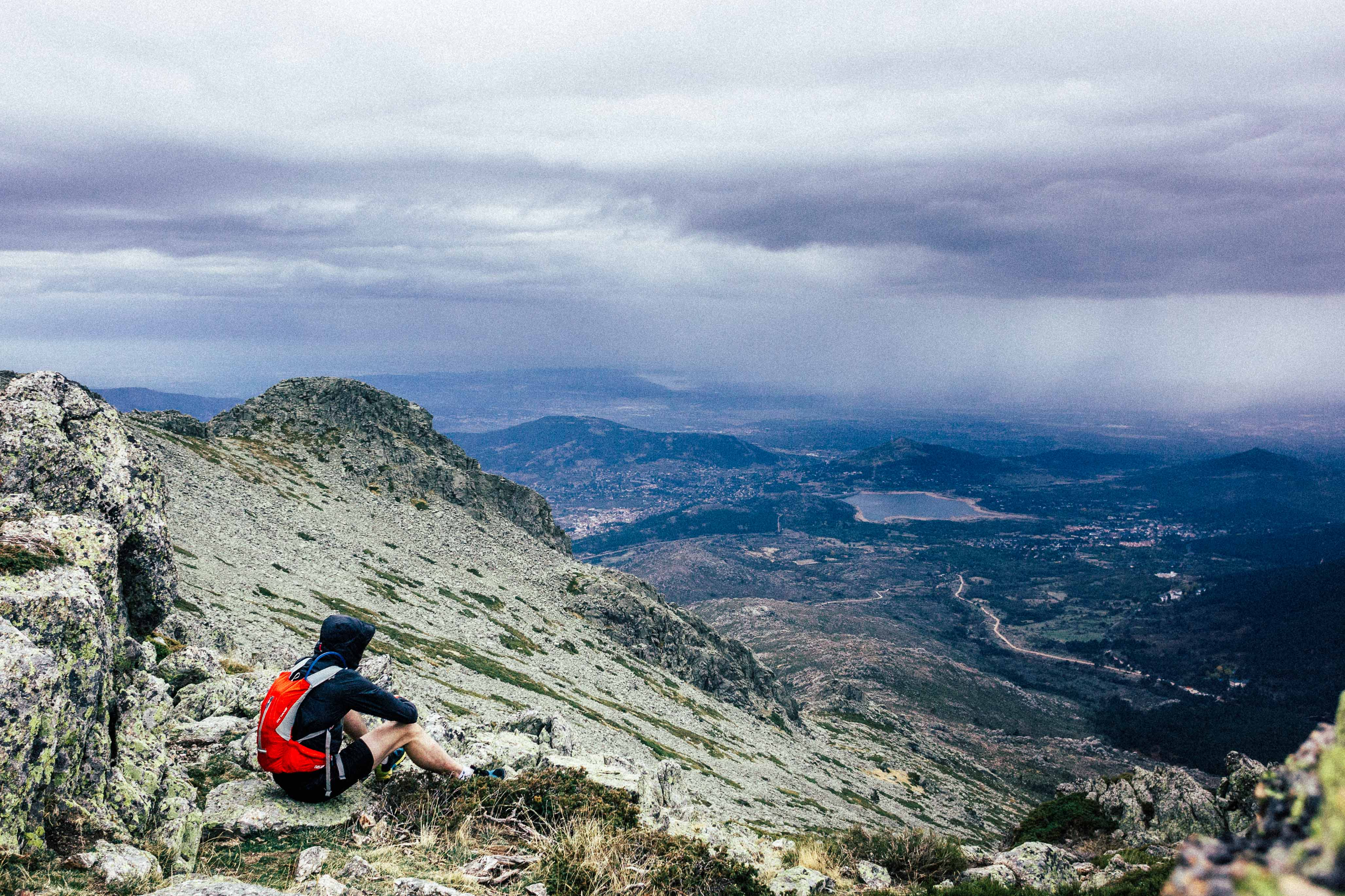 Mountainrunning in Madrid