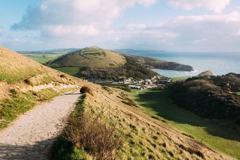 CTS Dorset start line and first climb