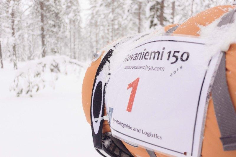 Rovaniemi 150 race bib