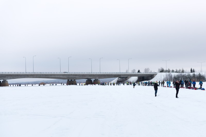 Rovaniemi 150 race start