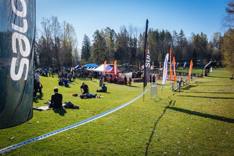 Bodom Trail 2016 start line