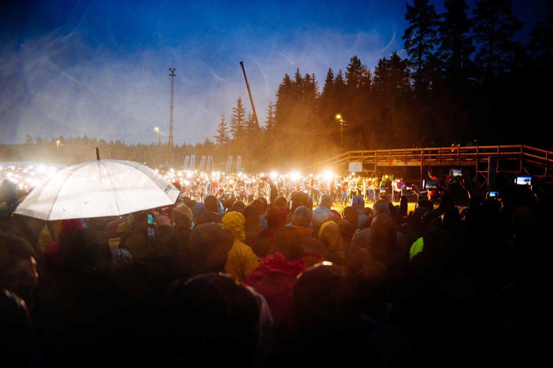 Jukola 2016 start line