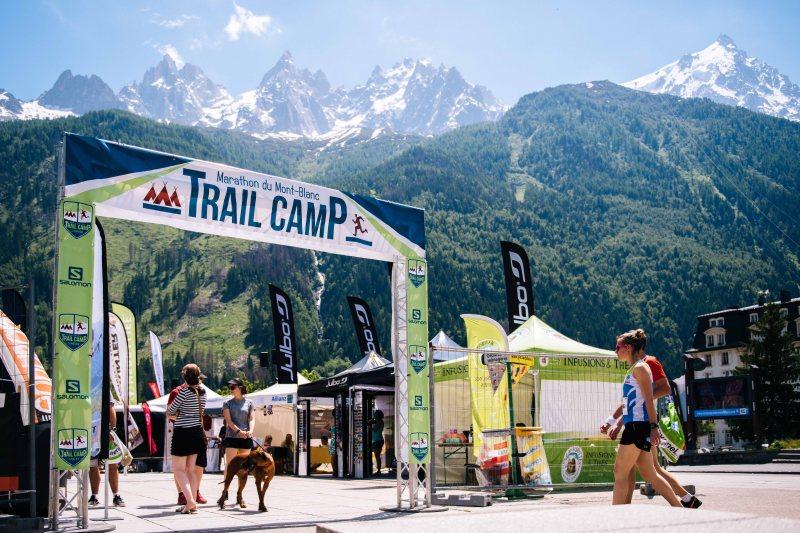 Marathon du Mont Blanc trail camp