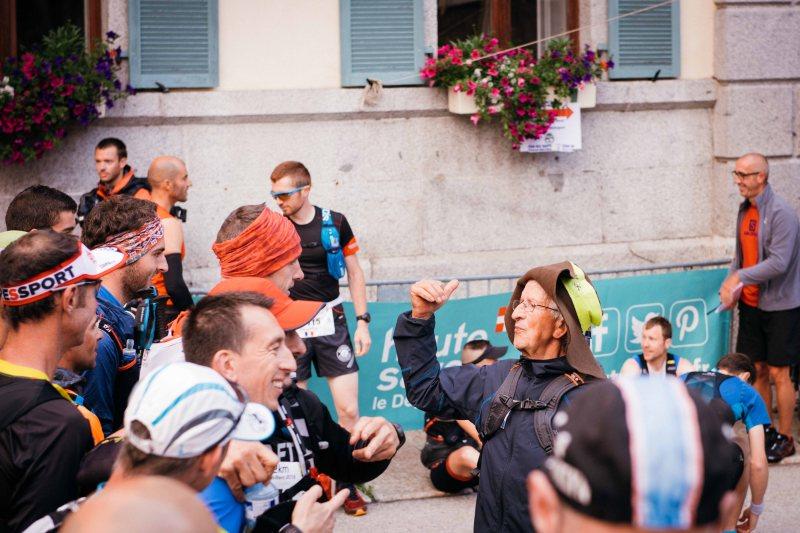 Marathon du Mont Blanc start line