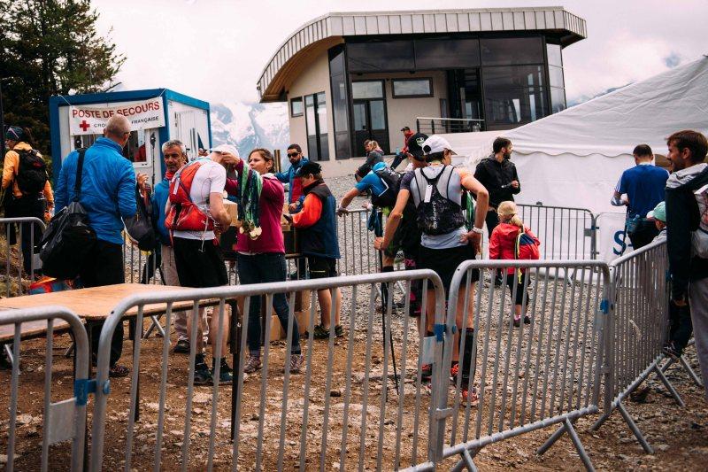 Marathon du Mont Blanc medal