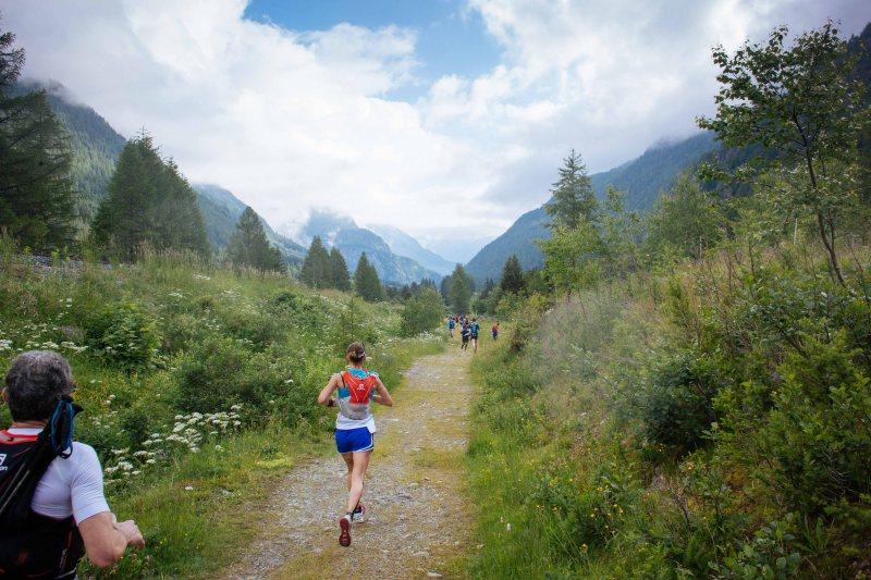 Marathon du Mont Blanc 42k route