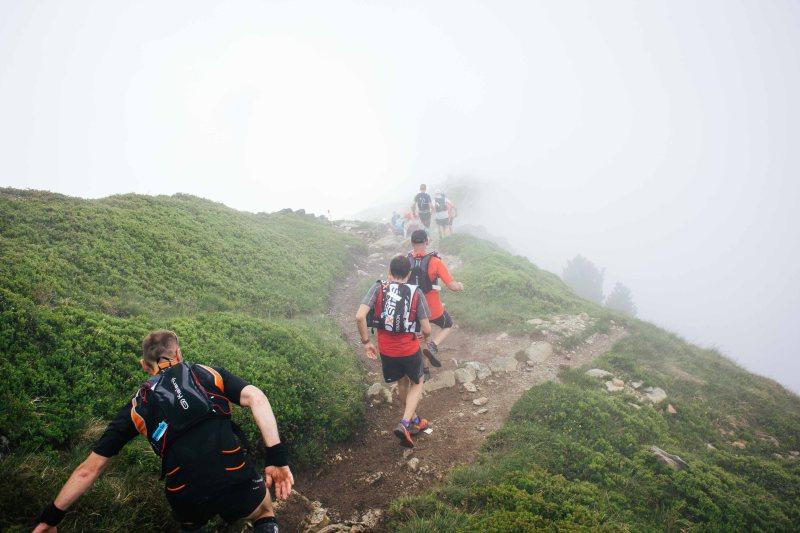 Downhill in Marathon du Mont Blanc