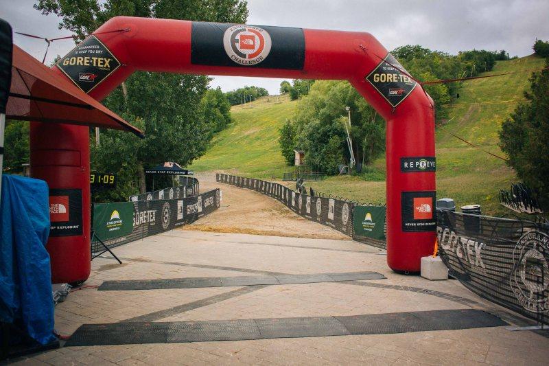 North Face Endurance Challenge 50k start line