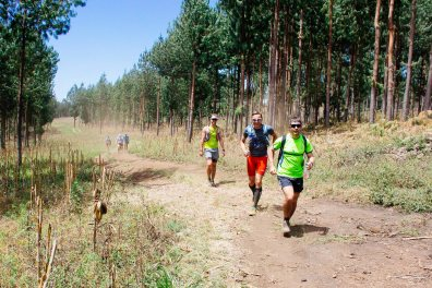Dusty trails on day 2 of Kilimanjaro Stage Run 2016
