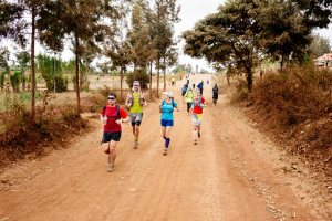 Day 3 on Kilimanjaro Stage run