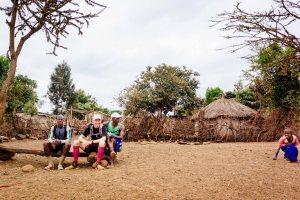Short break on day 3 of Kilimanjaro Stage run