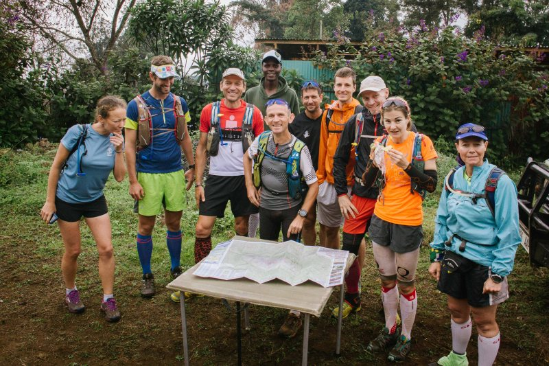 Kilimanjaro Stage Run 2016 runners