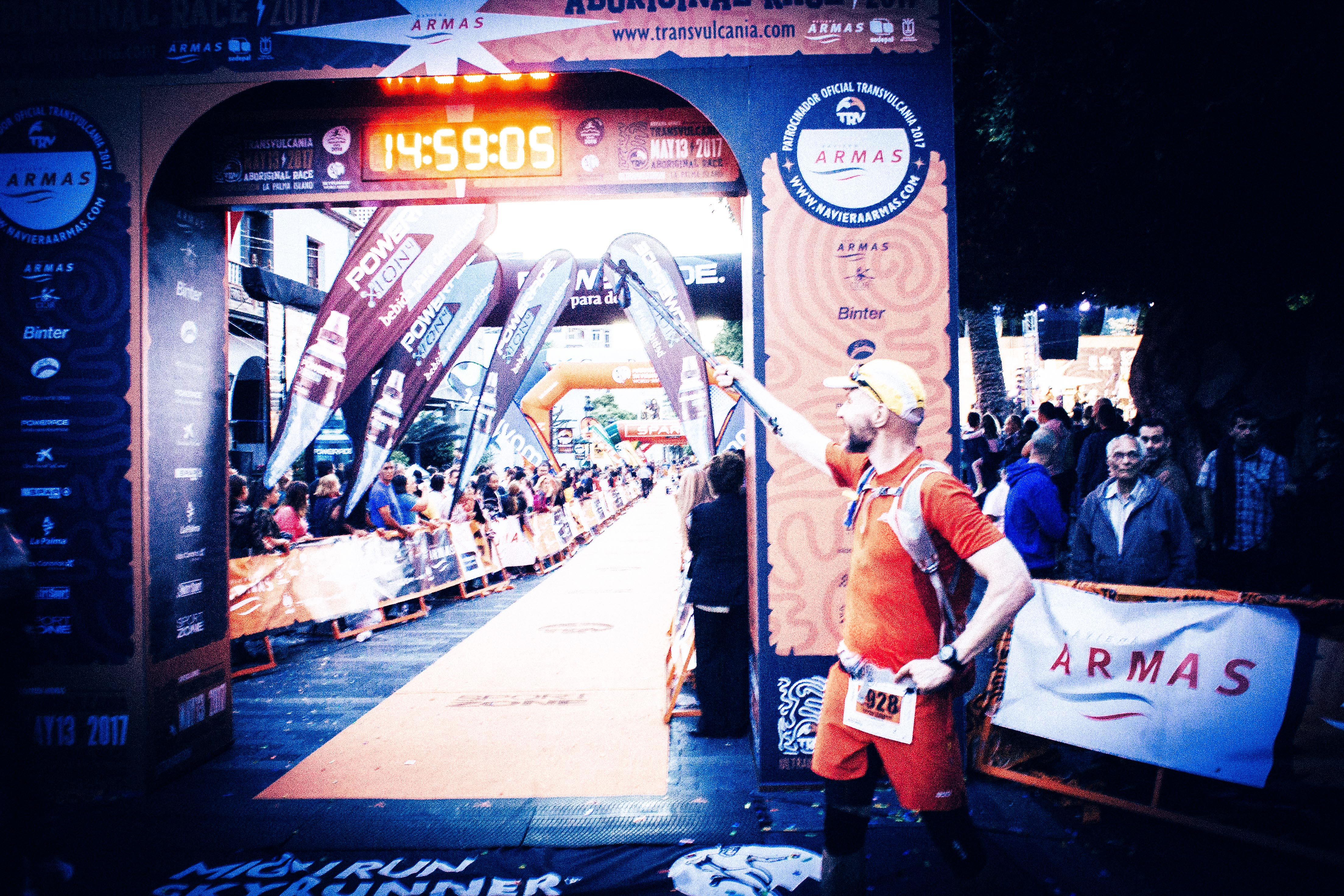 Transvulcania 2017 Finish line