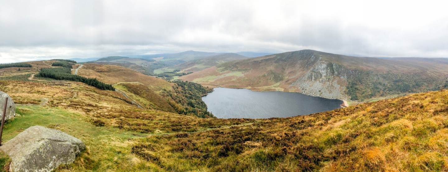 The Guinness Lake along The Wicklow Way