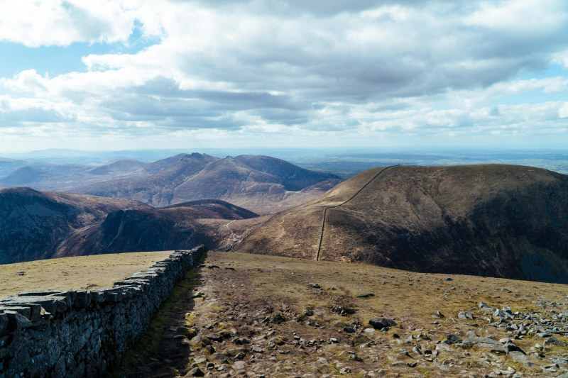 Slieve Donard summit