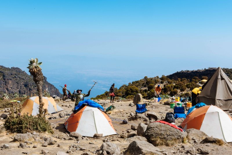 Barranco camp, Kilimanjaro