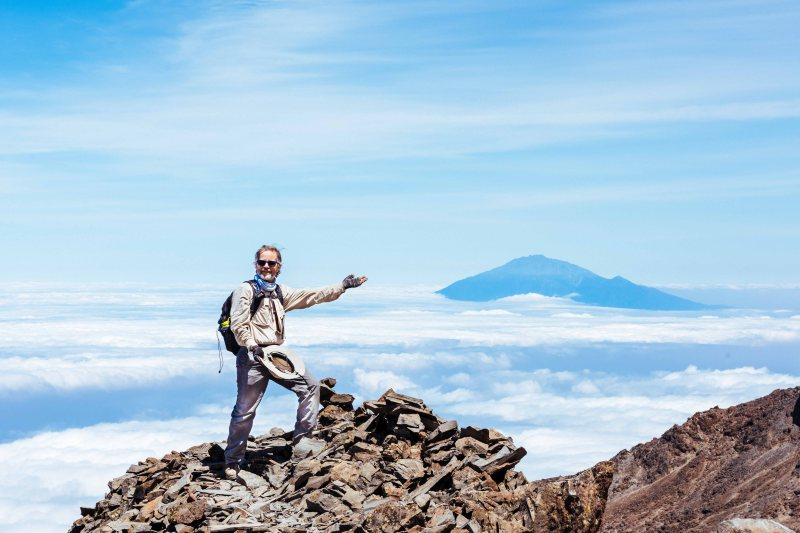 Cooke Harvey at Kilimanjaro Climb