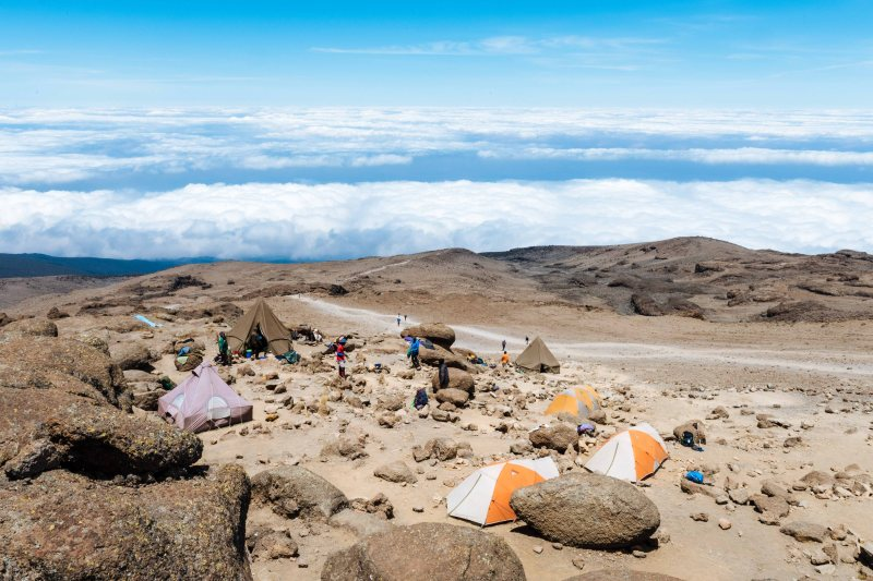 Barafu Camp at Kilimanjaro