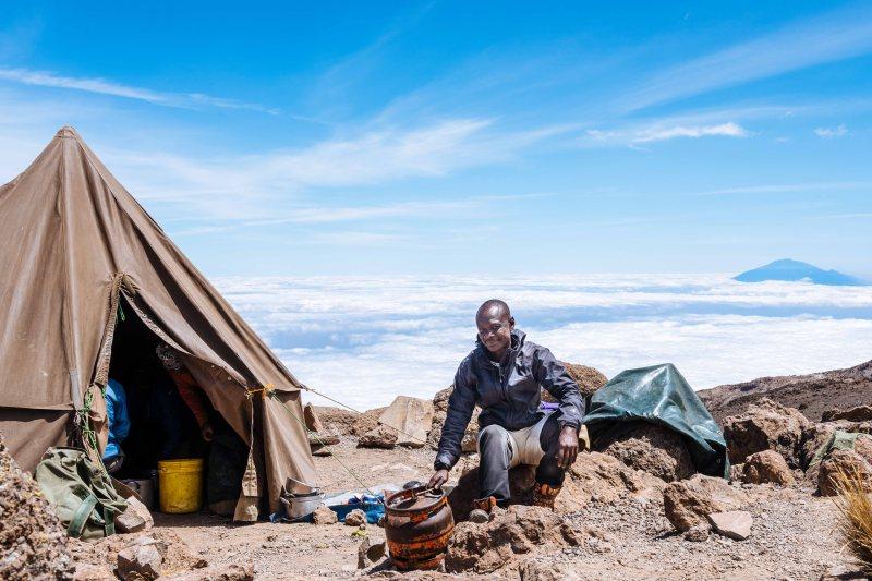 Kiplet at Barafu, Kilimanjaro
