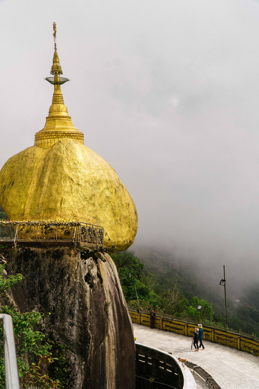 Kyaiktiyo, The Golden Rock