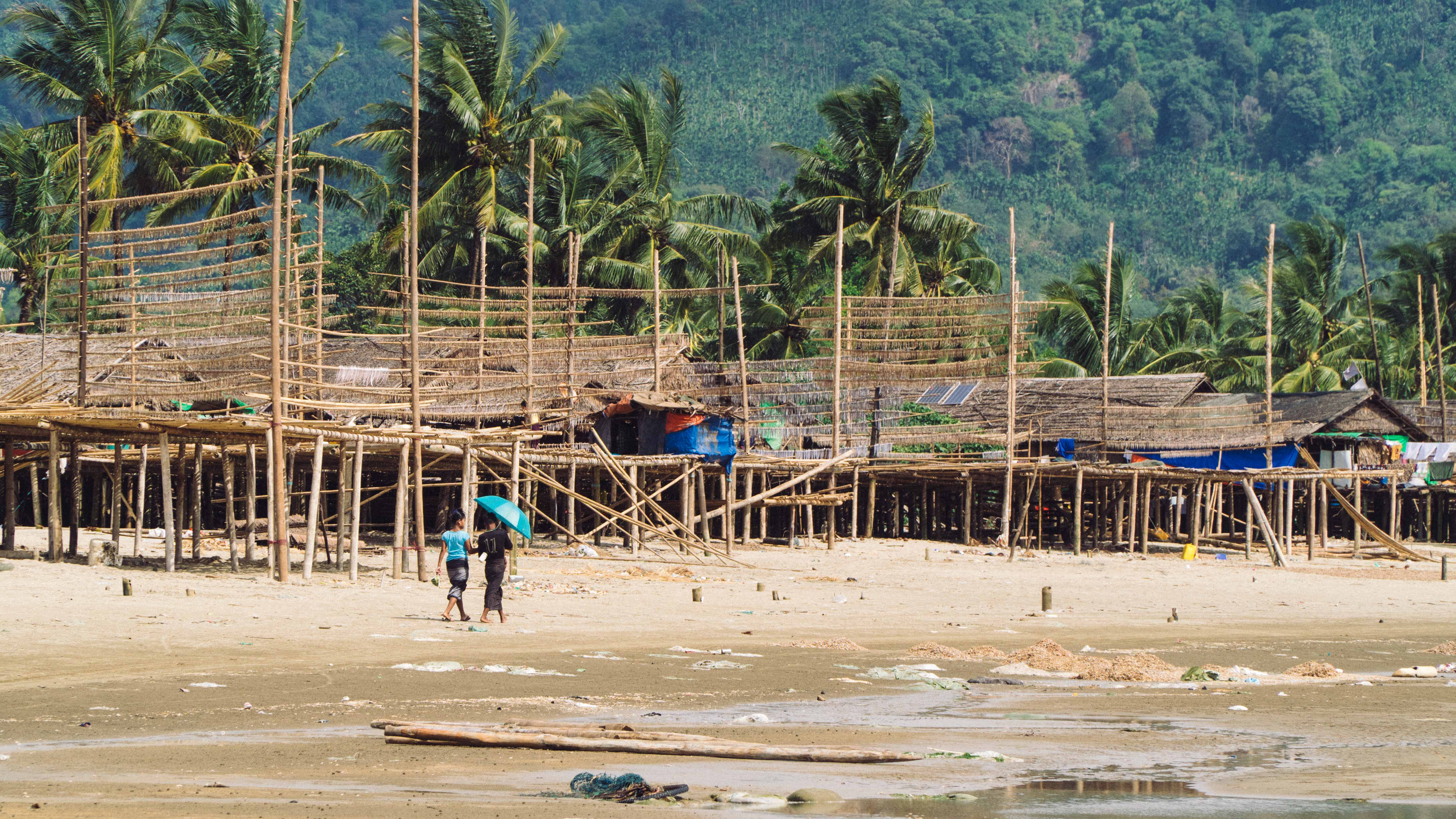 Village in southern Myanmar