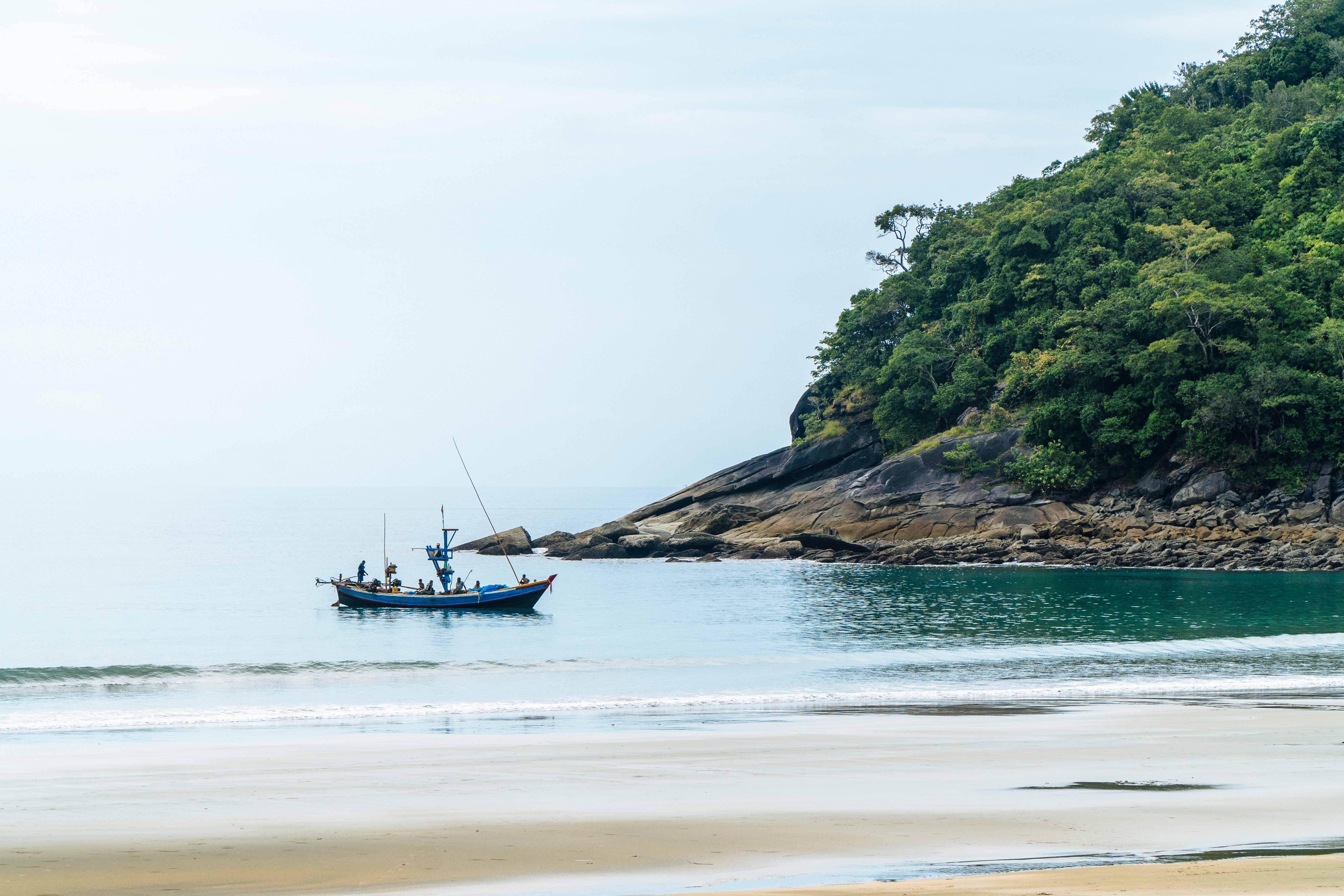 Fishermen in southern Myanmar