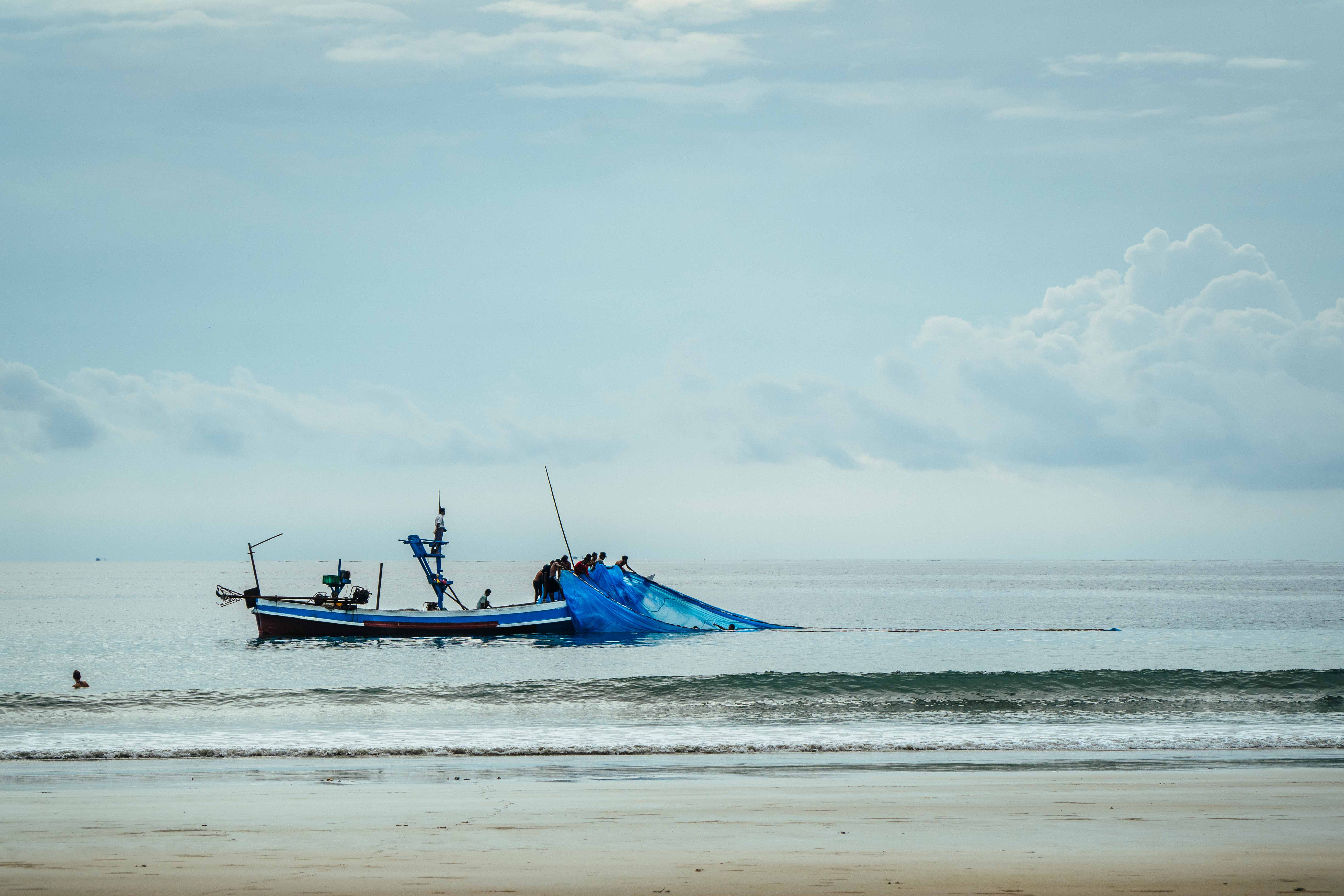 Fishermen in Myanmar