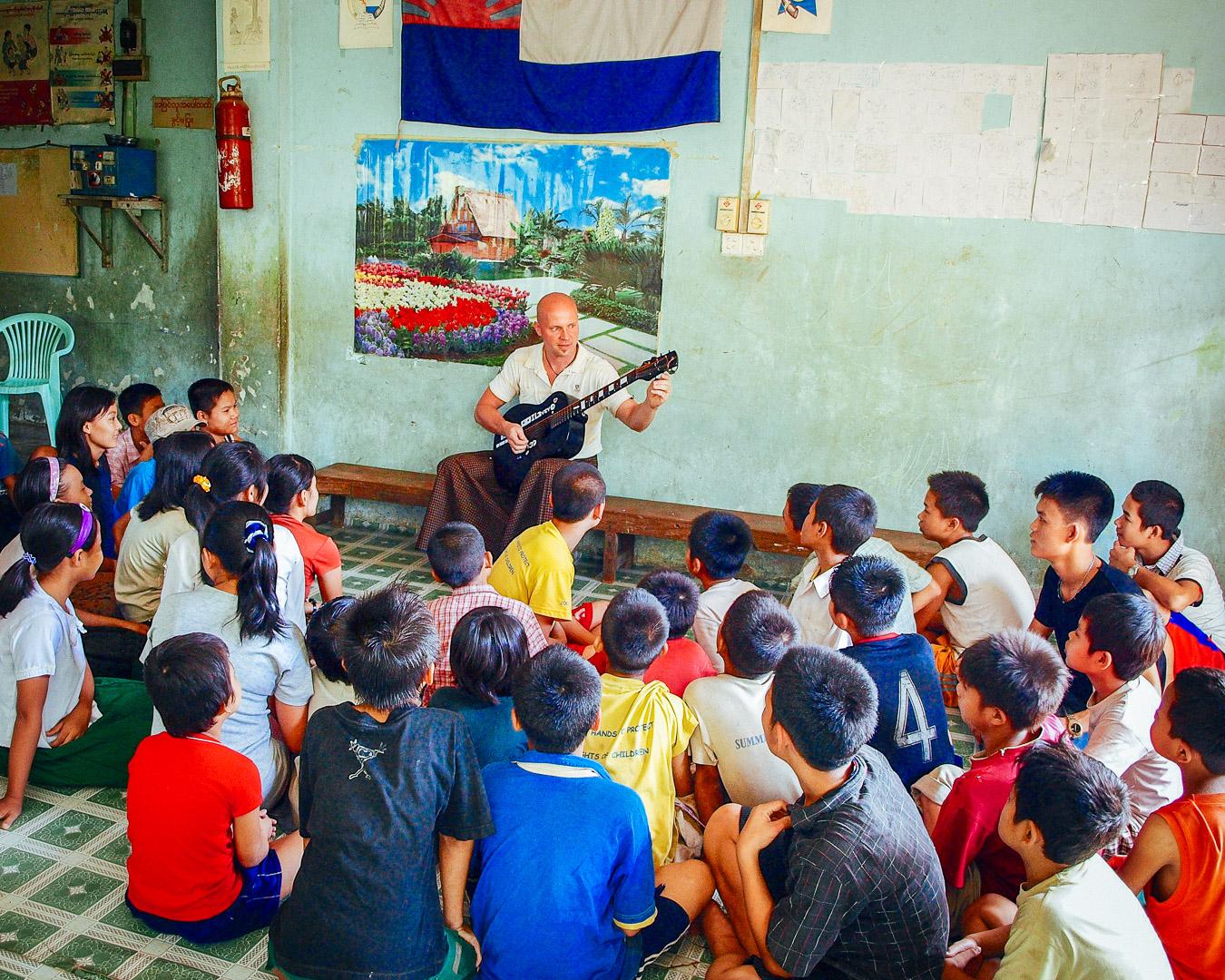 Orphanage in Yangon, Myanmar
