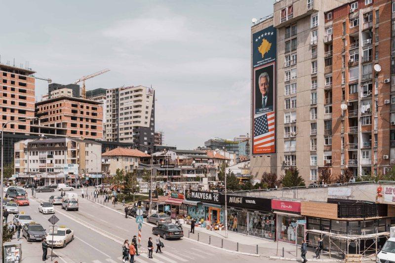 Bill Clinton Avenue, Prishtina, Kosovo